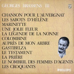 Brassens Georges Guitar Chords Guitar Tabs And Lyrics Album From